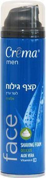 Spumă de ras pentru piele sensibilă Creme Aloe Vera 200 ml