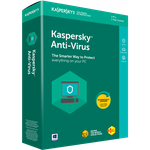 Kaspersky Anti-Virus BOX  1 Dt 1 Year Base