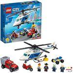 LEGO City Urmărirea unui elicopter de poliție, art. 60243