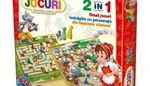Настольная игра 2in1 Scufita rosie si Pinochio, код 41183