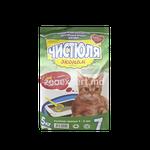 Наполнитель для кошачьего туалета Чистюля Эконом 5 kg