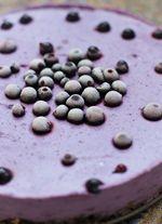 Cheesecake cu spirulina