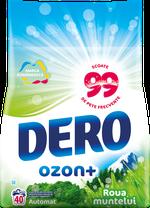 Стиральный порошок Dero Ozon+ Горная роса,  4 кг.