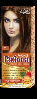 Краска для волос, ACME Рябина Avena, 100 мл., 470 - Мокко