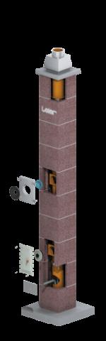 Дымоходная система керамическая - LEIER MULTIKERAM LAS Р1