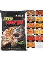 Прикормка Traper Big Carp 1 kg (STRAWBERRY/КЛУБНИКА)