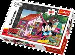 """Puzzle """"60"""" - """"Mickey & Minnie în grădină"""" cod 40230"""