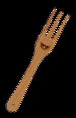 Furculita lemn 29 cm