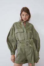 Куртка ZARA Зеленый 2674/205/505