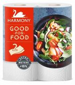 Полотенца бумажные Harmony Good-For-Food Extra Meters+15% 2 слоя 19м*2