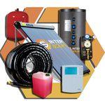 Система солнечного горячего водоснабжения на 200л + отопление