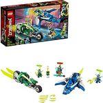 LEGO Ninjago Скоростные машины Джея и Ллойда, арт. 71709