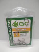 Крючки Golden Catch Carper Nr6, 10шт