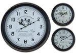 Часы настенные круглые 63cm, H7cm, металл