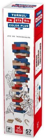 Joc de masă Turnul Instabil Color Plus, cod 42398