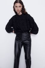 Блуза ZARA Чёрный 4530/001/800