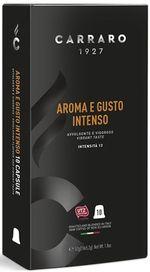 Капсулы для кофемашин Carraro Aroma e Gusto Intenso Compatible Nespresso 10caps