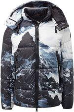Куртка Tom Tailor Черный с принтом tom tailor 1012109