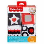 Мягкие кубики Fisher-Price Тропические друзья со звуком, код GFC37