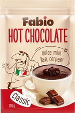 Hot Chocolate Fabio 100gr