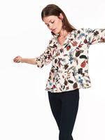 Блуза TOP SECRET Бежевый с принтом sbd0977