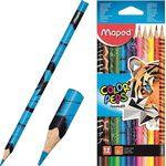 Карандаши цветные MAPED Animals, 12 цветов