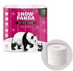 Туалетная бумага PANDA ExtraCare Aroma 4 слоя 20.8м*8