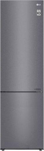 Холодильник с нижней морозильной камерой LG GA-B509CLCL, 384л, 203см, A+