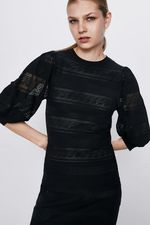 Платье ZARA Чёрный 2488/102/800