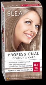 Vopsea p/u păr, SOLVEX Elea, 138 ml., 8.1 - Blond cenușiu deschis