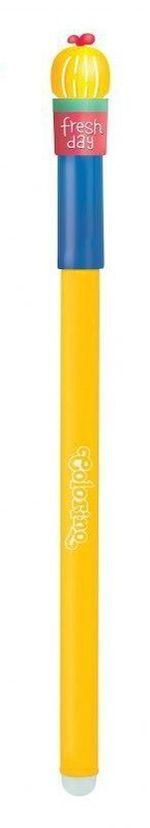 Ручка Colorino стираемая синяя 0,5 мм Кактус