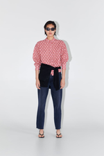 Блуза ZARA Светло розовый 2257/575/046