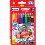 Карандаши цветные Fatih Jumbo 12 цветов