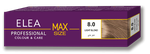 Краска для волос,SOLVEX Elea Max, 100 мл., 8.0 - Светло-русый