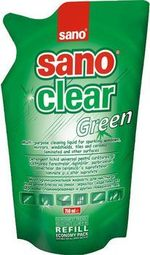 Средство для стёкол (запаска) Sano Clear Green 750 мл