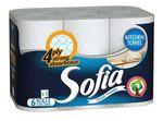 Полотенца бумажные SOFIA 4 слоя 10м*6