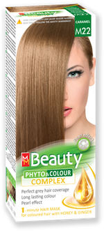 Краска для волос,SOLVEX MM Beauty, 125 мл., M22 - Карамель