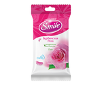 Влажные салфетки Smile Бурбонская Роза, 15 шт.