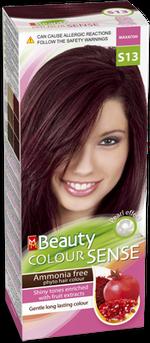 Vopsea p/u păr, SOLVEX MM Beauty Sense, 125 ml., S13 - Mahon