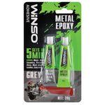 WINSO Adeziv epoxidic p/metal 20gr sur 300300