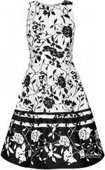 Платье ORSAY Черно-белый