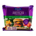 Плавленый сыр Emborg American Cheddar ломтики, 100г