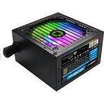 Блок питания ATX 700W GAMEMAX VP-700-RGB, 80+ Bronze, Active PFC, 120-мм вентилятор RGB, управление вентилятором