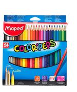 Карандаши цветные MAPED  24 шт
