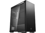 Корпус ATX Deepcool MACUBE 310P BK, без блока питания, 1x120 мм, пылевые фильтры, тонированное закаленное стекло, USB3.0, черный