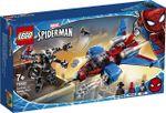 LEGO Marvel Avionul Spider-Man împotriva lui Venom Robot, art. 76150