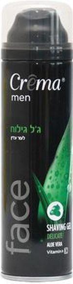 Гель для бритья для чувствительной кожи Crema Aloe Vera 200 мл
