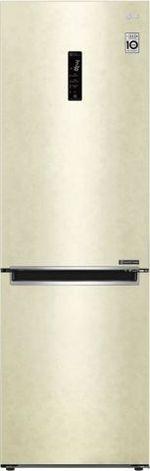 Холодильник с нижней морозильной камерой LG GA-B459MEQZ, 341л, 186см, A++