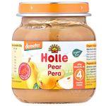 Пюре с грушей с 4 месяцев Holle, 125 г