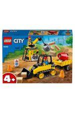 LEGO City Строительный бульдозер, арт. 60252